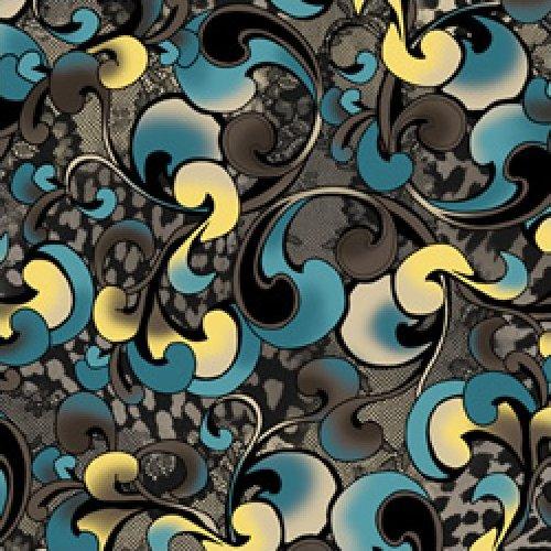 Harlee - Swirl (Teal)
