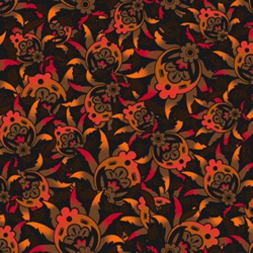 Harlee - Floral Heads (Orange)