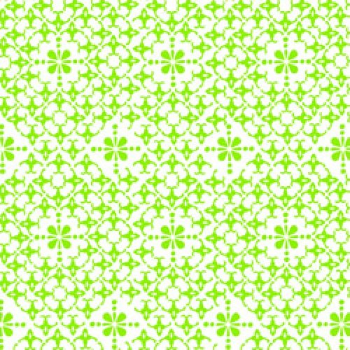 Calypso - Ditsy Medallion (Green)