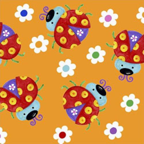 The Happy Garden - Ladybugs (Orange)