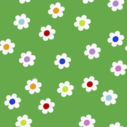 The Happy Garden - Daisies (Green)