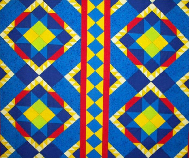 Ranchero - Indian Blanket (Blue)
