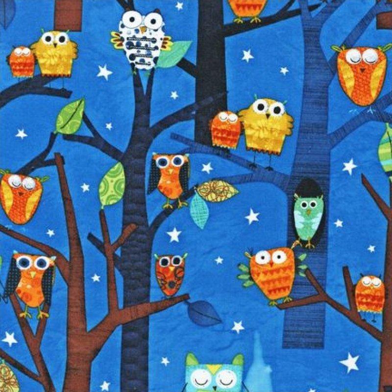 Forest Fun - Owls