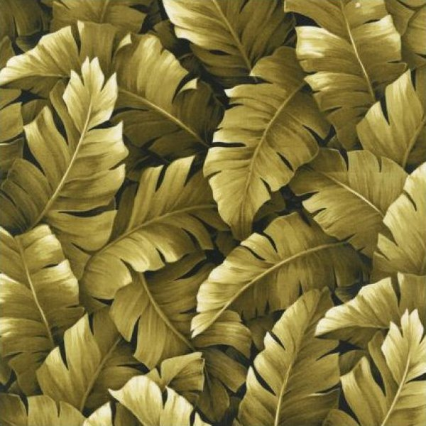Island Sanctuary - Banana Leaf (Khaki)