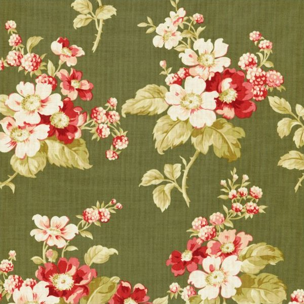 Fancy Hill Farm - Floral (Green)