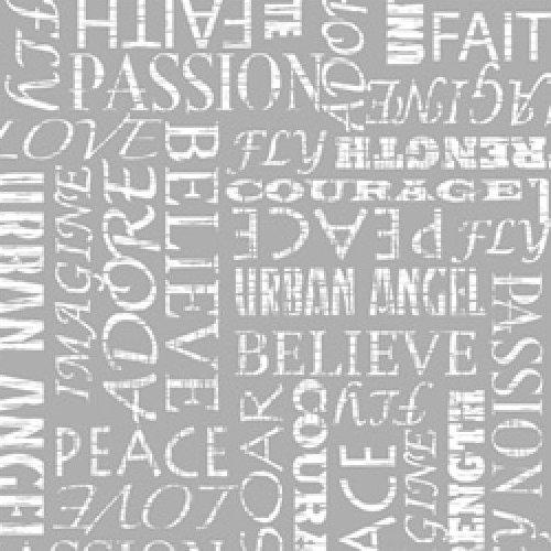 Urban Angel - Words (Grey)