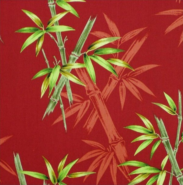 Bamboo Grove - Red