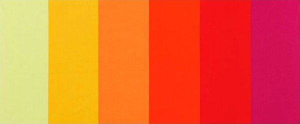 Nuances - Red/Yellow