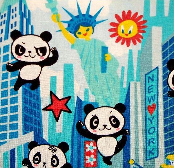 Panda Bear in New York - Aqua
