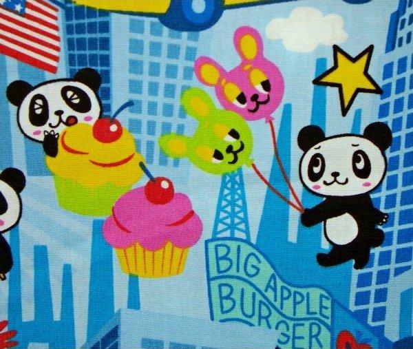 Panda Bear in New York - Blue