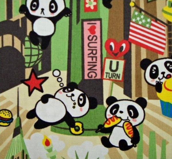 Panda Bear in New York - Green