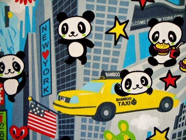 Panda Bear in New York - Grey