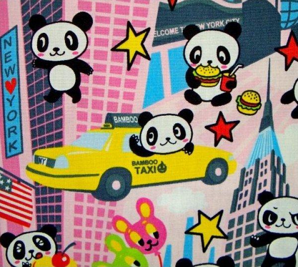 Panda Bear in New York - Pink
