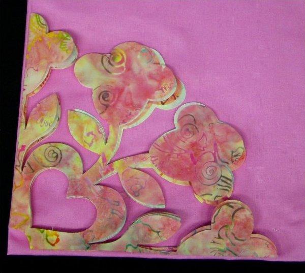 Fusible Applique / Quilt Kit - Spring Bouquet
