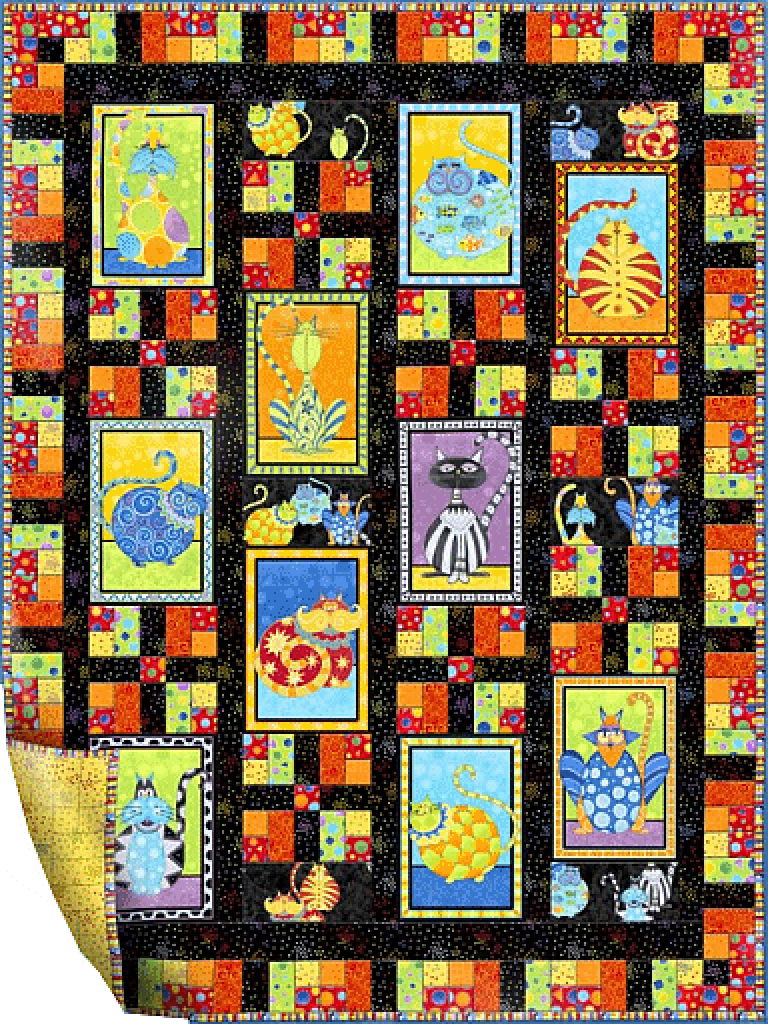 Cat's Meow Free Pattern : cats meow quilt pattern - Adamdwight.com
