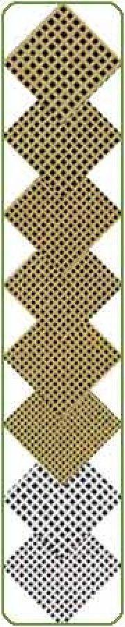 Blank Needlepoint Canvas - Mono Brown