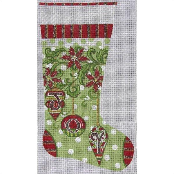 Christmas Stocking Needlepoint Joy