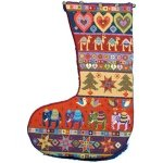 needlepoint stocking finishing
