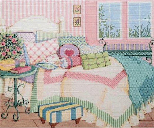 Sandra Gilmore Needlepoint<BR>Sweet Dreaming