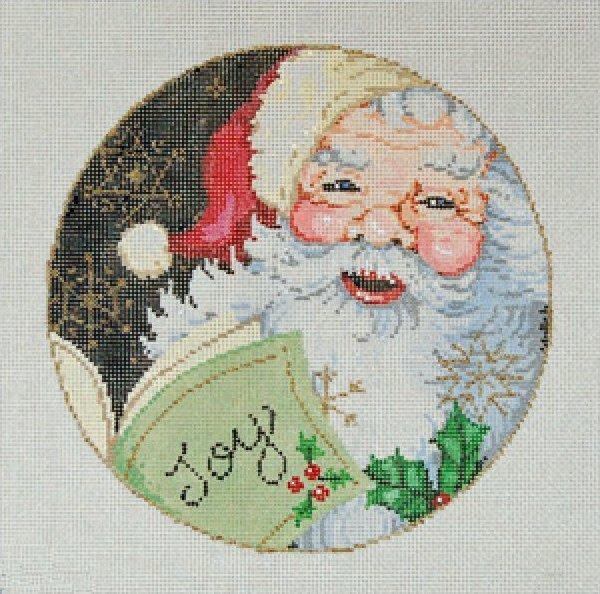 Needlepoint Christmas Ornament Joy