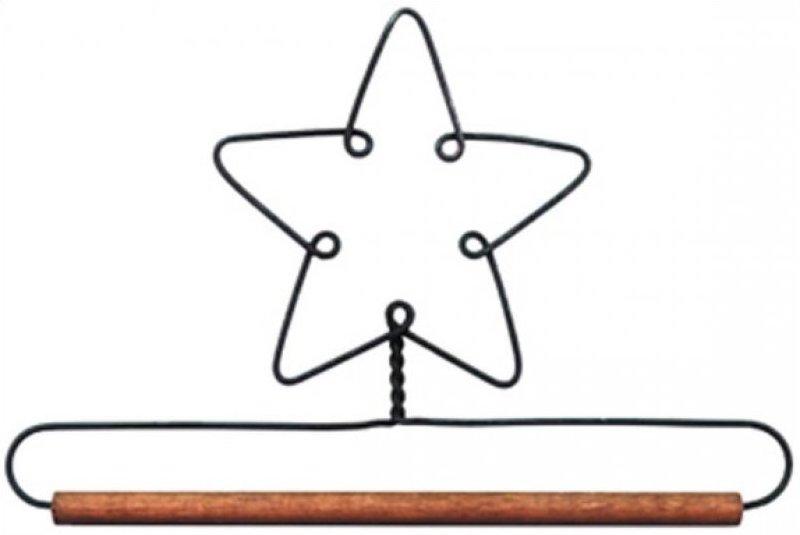 6 in Single Star mini hanger