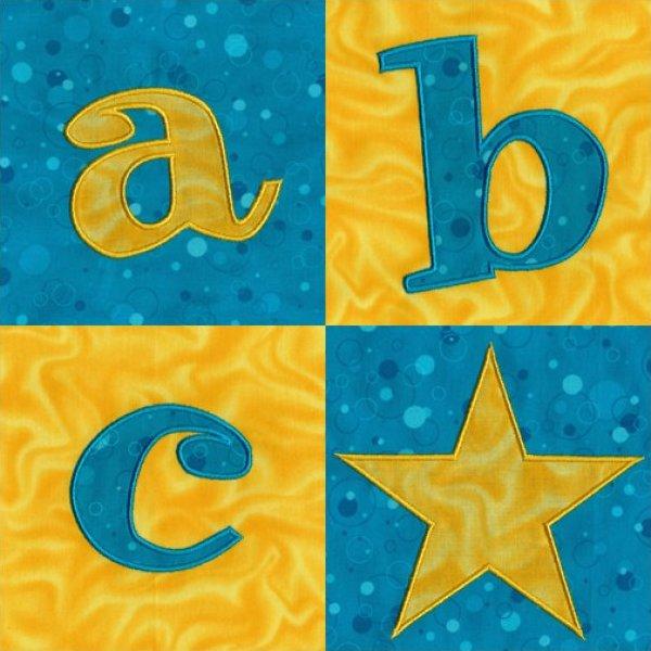 Rockin' Applique Alphabet