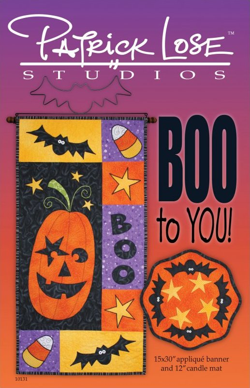 Boo to You!  digital pattern