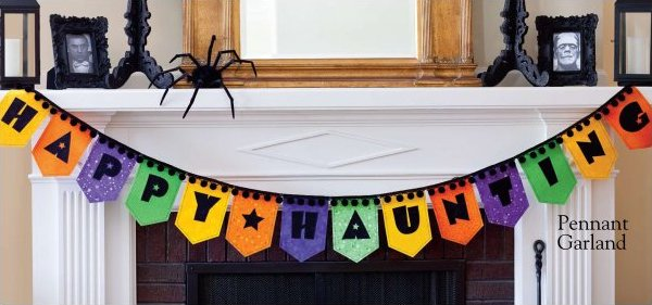 Happy Haunting bunting/banner