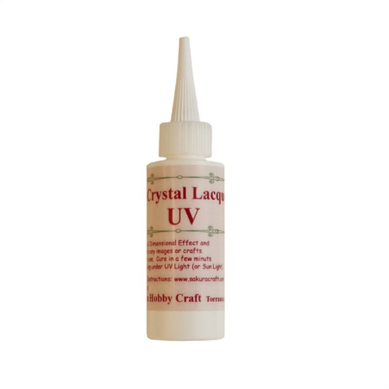 04002 <br /> 3D Crystal Lacquer <br /> UV 2 oz.