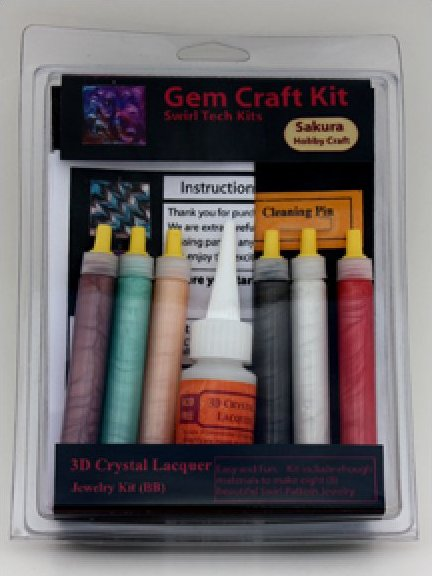 66002 <br /> Gem Craft Kit <br /> Swirl Technique (B)