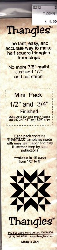 Thangles Mini Pack 1/2 and 3/4