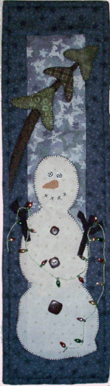 P44 Hangin' Lights Pattern, Button & Fabric Kit