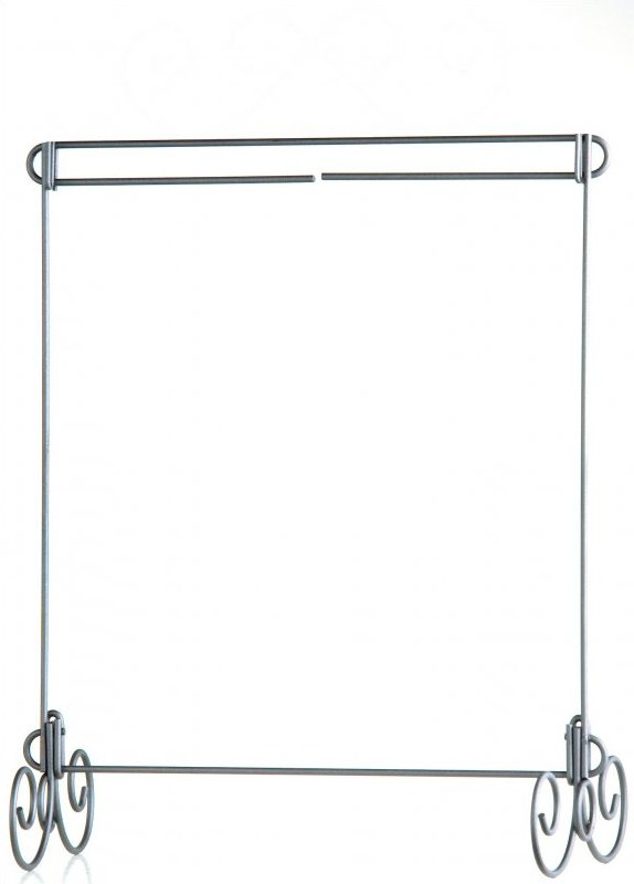 12x14 in. table top stand grey