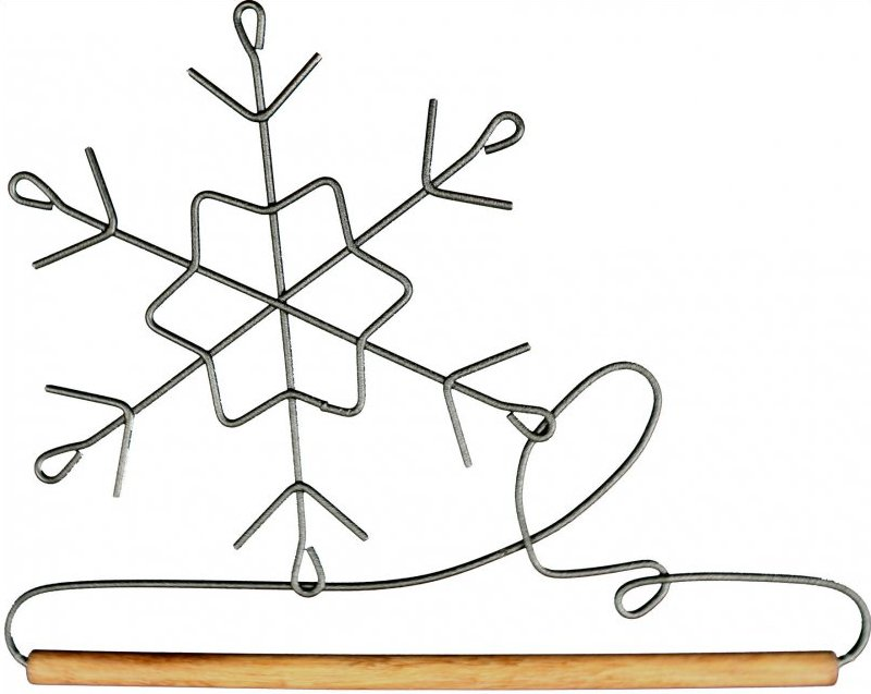 6 inch Snowflake