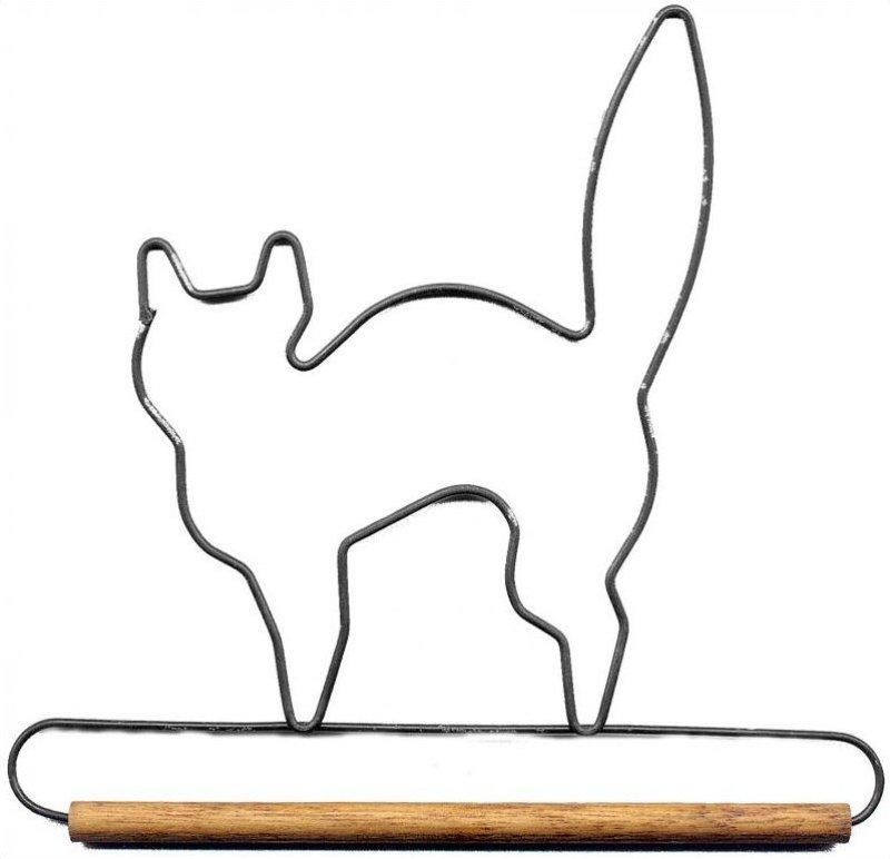6 inch Black Cat