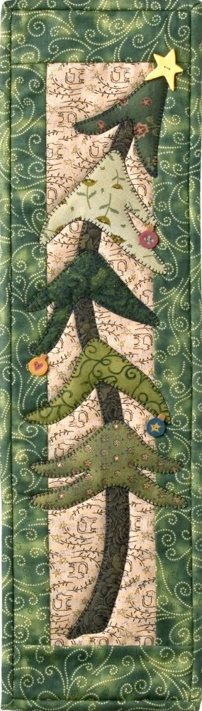Absolute Beginner Applique Class:  P45 Holiday Tree - DIGITAL
