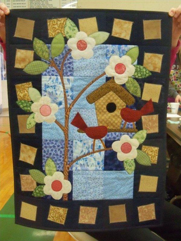 Kim Schaefer's Calendar Quilts, March : calendar quilts - Adamdwight.com