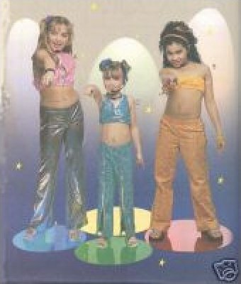 Costume PATTERN Diva OUTFITS McCall's 3363 CLASSIC Girl's sizes 3 - 12