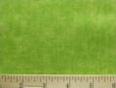 Silky Fleece Trim Chartreuse Green 4 inch wide