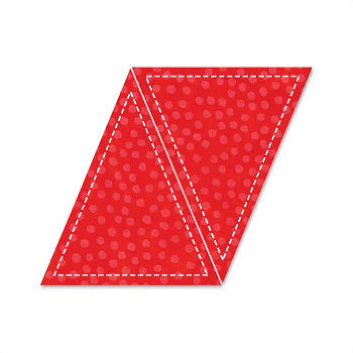 Accuquilt Go! Cutting Die Geometric Triangle Isosceles 5x 6 (4 1/4 x 5 1/8 Finished) 55016