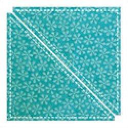 Accuquilt Go! Cutting Die Geometric Half Square Triangle 6 Finished Square 55001 Triangle