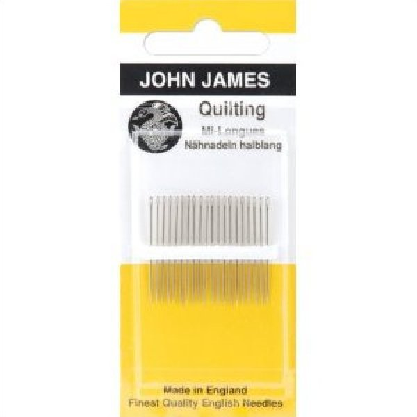 John James Quilting needles 20 per pack Size 5/10