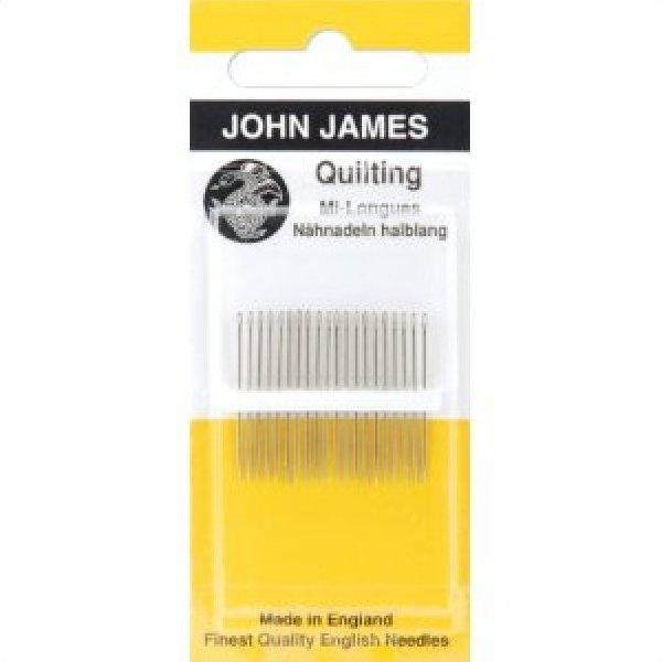 John James Quilting/Betweens Hand Needles-Size 10 20/Pkg