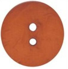 Buttons Dill Buttons 410042 60mm (2.5 inch) large round nesting polyamid buttons color dark orange