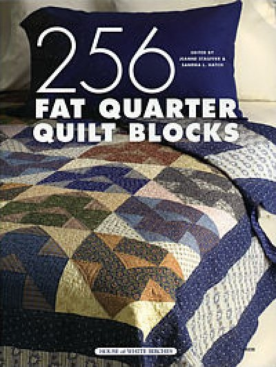 House of White Birches Quilt Pattern Book 256 Fat Quarter Quilt Blocks Pattern Book
