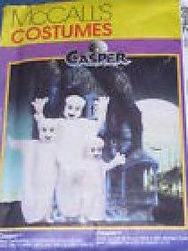 CASPER COSTUME PATTERN McCall's 8942 ADULT SIZES
