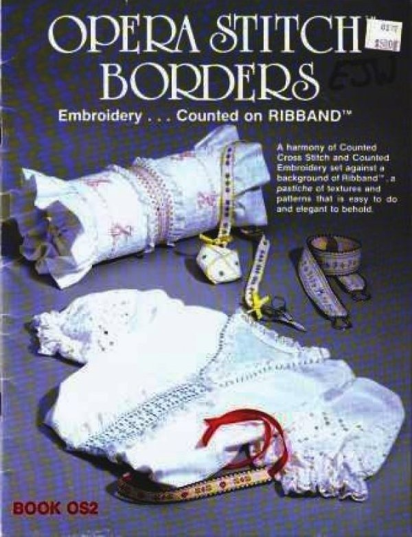 Opera Stitch Borders for Ribband pattern booklet- Vintage
