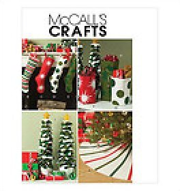 CRAFT Sewing PATTERN Home Decor HOLIDAY DECORATING McCall's M5260 Christmas Decor