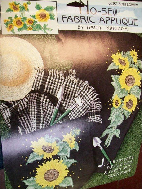 No Sew Fabric Applique by Daisy Kingsom
