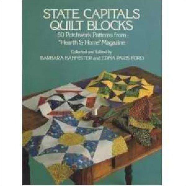 State Capitals Quilt Blocks